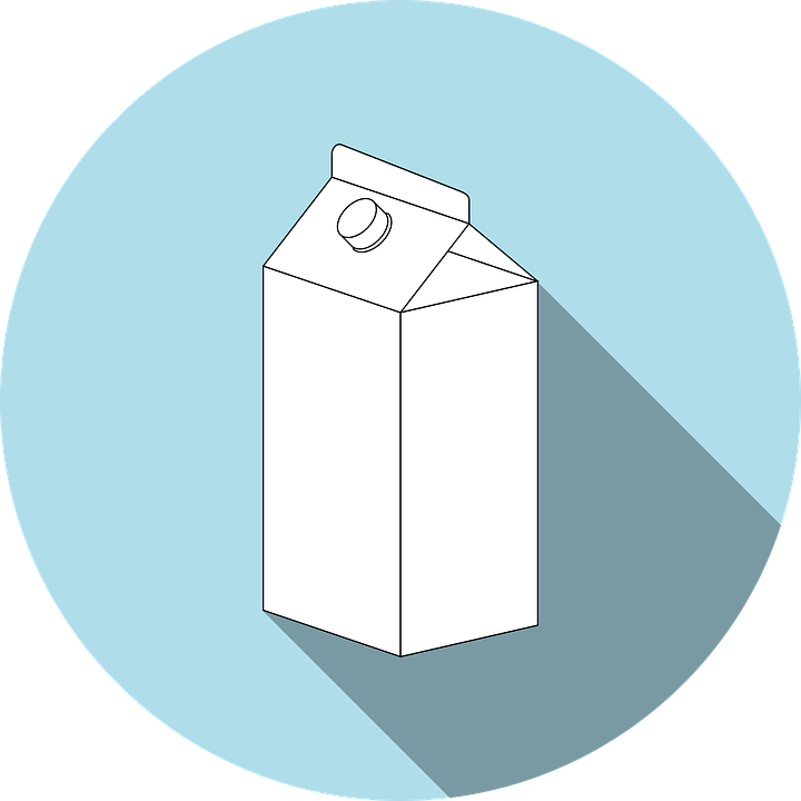 Milk jug full of lactose.